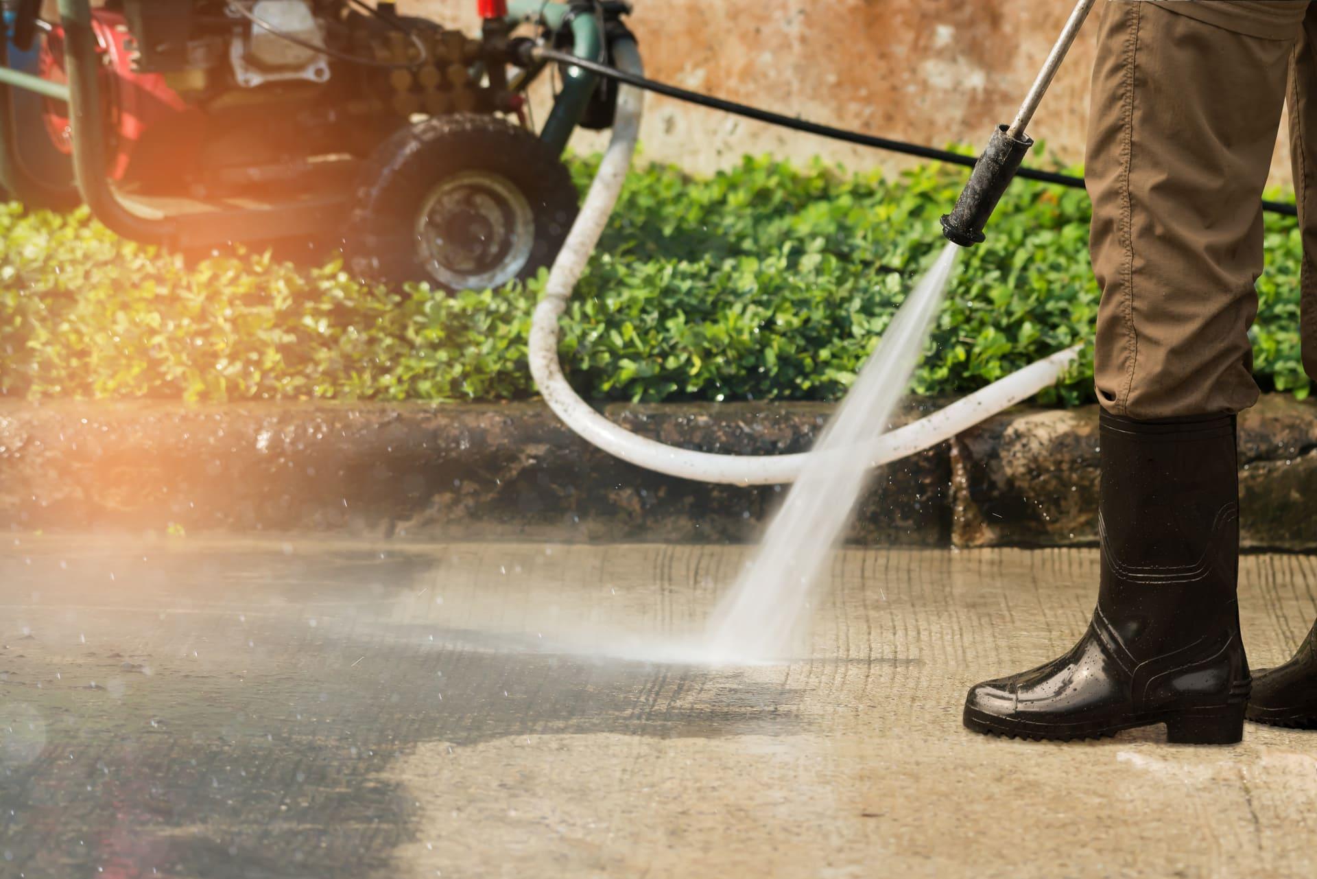 professional powerwashing services